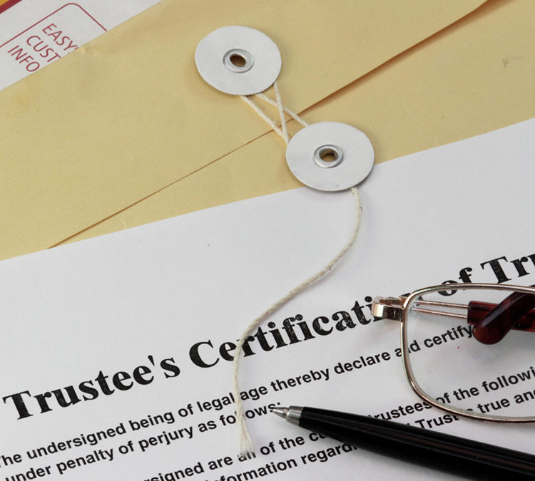I Was Named as a Trustee on a Trust: Now What?