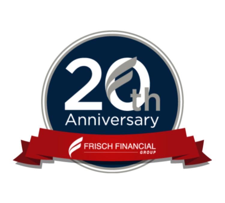 frisch_20_anniversary_logo