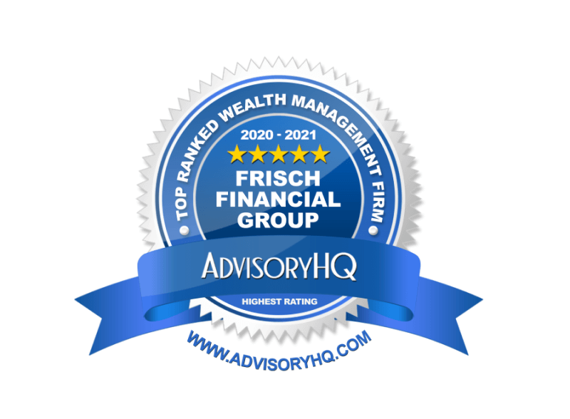 Frisch Financial Group is Listed as One of the Best Financial Advisors in Tampa & St. Petersburg, FL